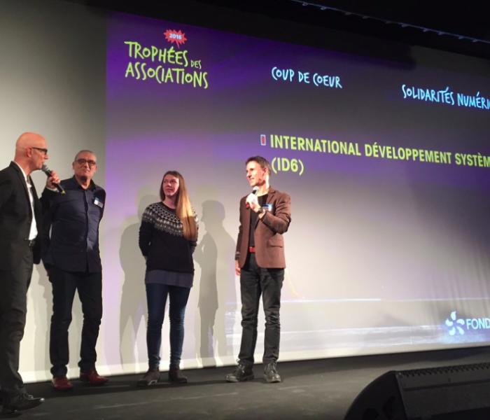 Id6 remporte le Trophée coup de coeur de la Fondation EDF