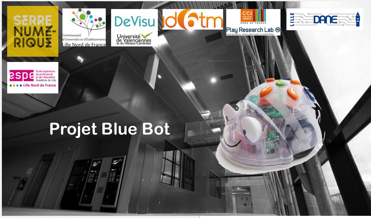 Bluebot: Apports de la robotique et du numérique dans l'acquisition de la programmation séquentielle