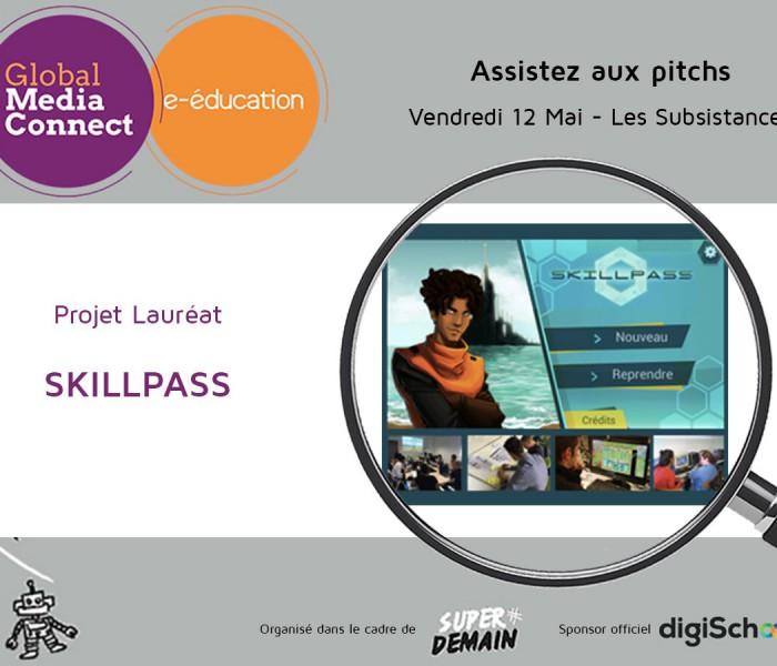 Id6 avec SkillPass Lauréat de l'appel GMC e-éducation