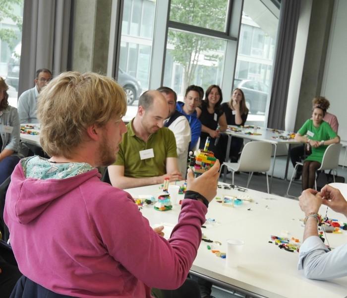 Lego serious play et Minecraft pour faire émerger un projet européen