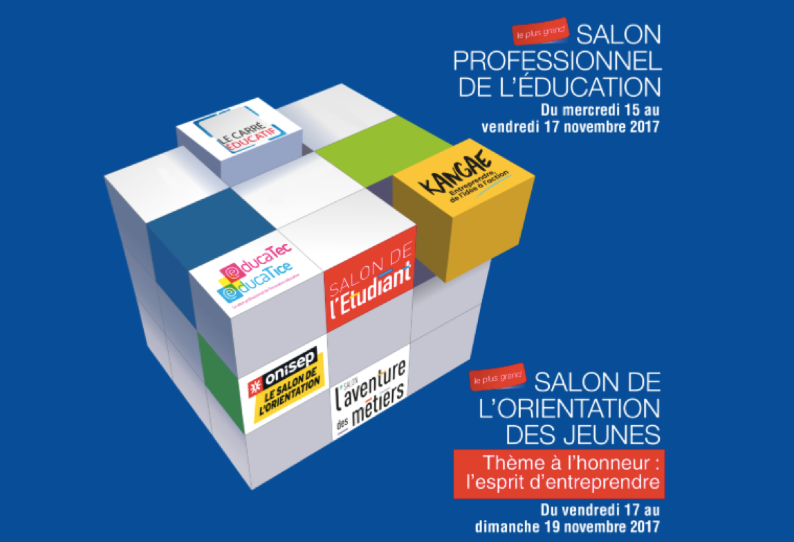 Id6 sur le stand Kangae du salon de l'Education